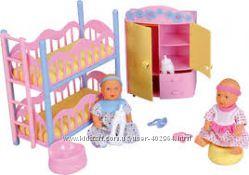 Кукольный набор. 2 мини-пупса Baby Born и спальня NBB 5036610 Simba