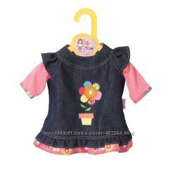 Джинсовое платье для куклы Zapf Creation 43 см  Baby born 870006