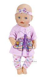 Набор одежды Zapf для куклы Baby Born Бабочка 823545