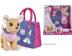 Плюшевая собачка Chi Chi love Городская мода с сумочкой чи чи лав  5893244