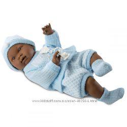 Испанская Кукла Llorens Nino 45 см мулат 45025