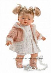 Испанская Интерактивная кукла Роберта 33 см. , со звуком llorens 33296