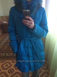 Красивое и тёплое дутое пальто