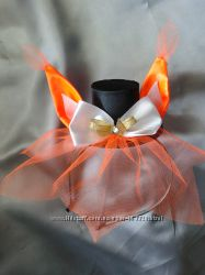Шляпка декоративная для новогоднего костюма Белоча
