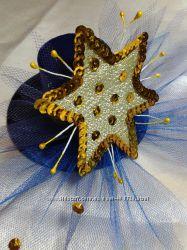 Шляпка декоративная для новогоднего костюма Звездочка