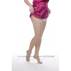 Чулки компрессионные женские, 2 класс компрессии с закрытым носком Solovent