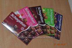 Немецкий шоколад Schogetten. Удовольствие в каждом кусочке.