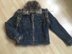 Трендовая джинсовая куртка 2в1 Morgan