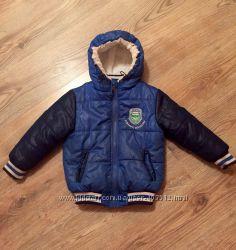 Тёплая куртка на 2-4 годика Glo-Story