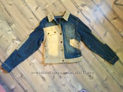 Крутаю джинсовая куптка пиджак