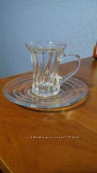 Стеклянная кофейная чашка 80мл