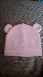 шапочки 2 шт біла і рожева