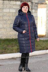 Зимнее пальто большие размеры 56-66