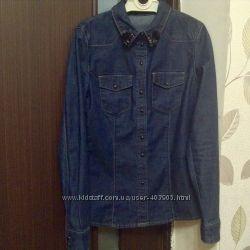 Джинсовая рубашка Кира Пластинина