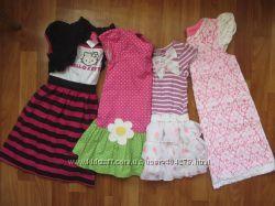 Фирменные платья-туники девочке 3-6лет