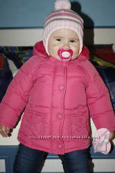 Курточка на малышку 9-12 мес.