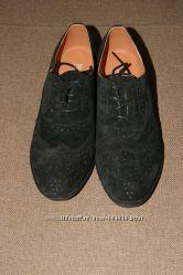 Замшевые туфли Снизила цену