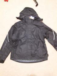 лыжная куртка Crivit женская черная на мембране