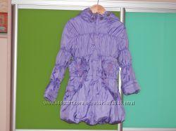 Демисезонная куртка - пальто для девочки NovaClub, размер 104