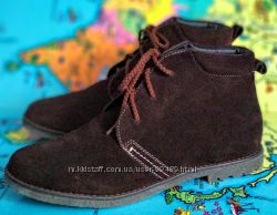 Красивые замшевые ботинки Braska р. 36