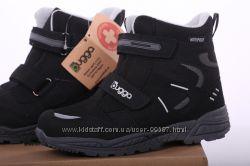 Зимние ботинки термо waterproof премиум-качество р. 25-38 BUGGA Чехия