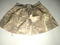 Юбка нарядная, золотого цвета  Gymboree, США