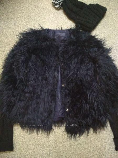 Модная шубка zara
