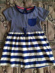 Платье для девочки от 9 мес до 1,5 годика