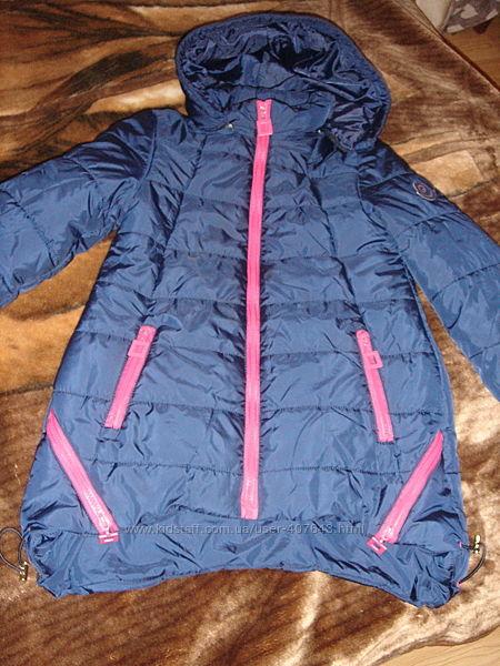 Курточка на синтапоне демисезонная для девочки р. 128-134 см