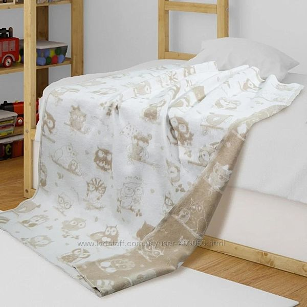 Мягкие байковые одеяла, хлопок