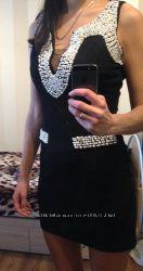 Маленькое чёрное платье с жемчугом