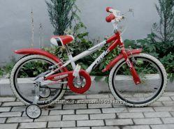 велосипед Drag rush 18 бело-красный