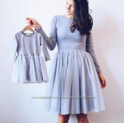Платье мама дочка комплект