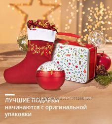 Новогодний шар - упаковка для подарка от Ив Роше