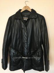 Куртка кожаная с пухом Salvatore Ferragamo