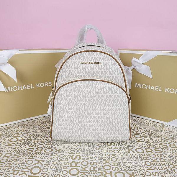 Рюкзак Michael Kors abbey medium vanilla оригинал Майкл Корс
