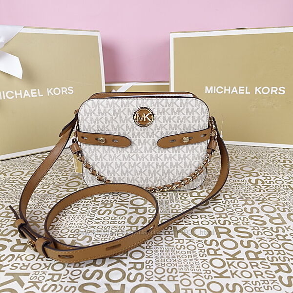 Кожаная сумка Michael Kors carmen large оригинал Майкл Корс
