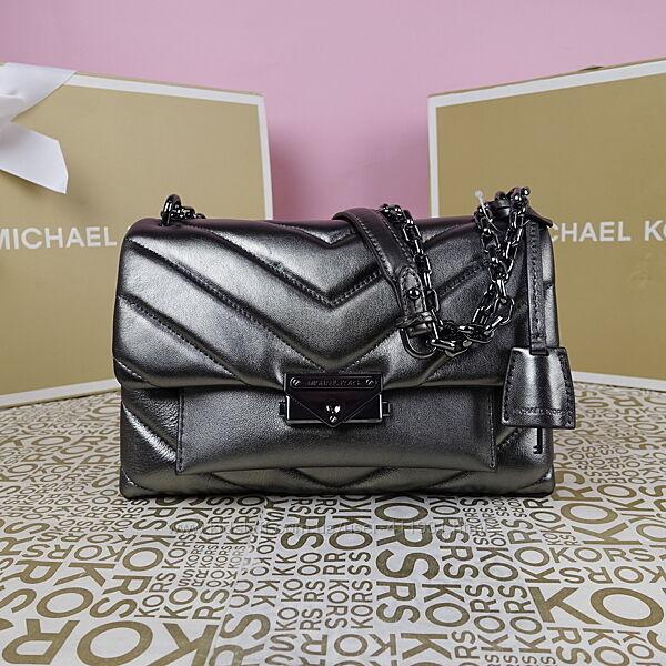 Кожаная сумка Michael Kors cece md anthracite оригинал Майкл Корс