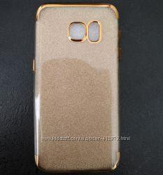 Мягкий чехол для Samsung S7. Новый.