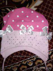 Симпатичный беретик для девочки и дугие шапочки