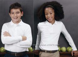 Регланы-поло в школу George Англия для мальчиков и девочек