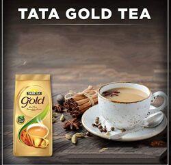 Натуральный индийский премиальний чай Тата Голд