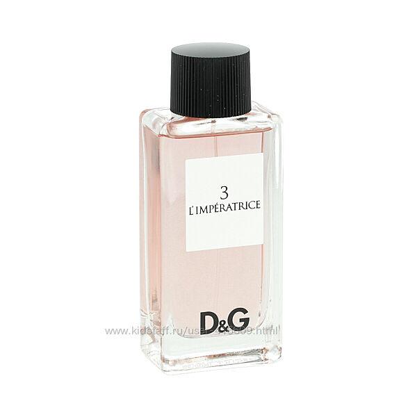 Dolce & Gabbana - 3 L&acuteImperatrice edt на распив
