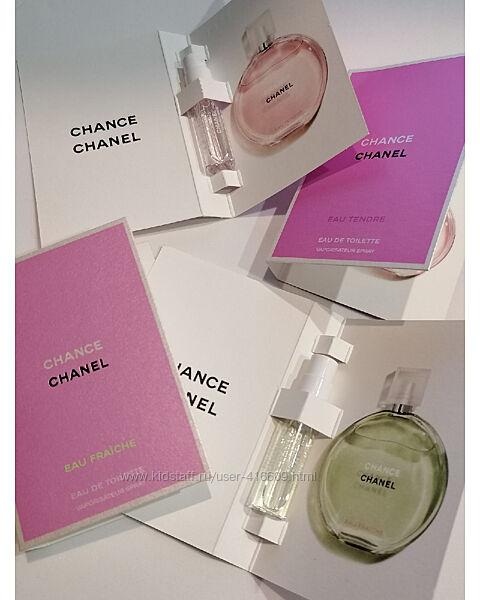 Сэмплы Chanel - Chance 1.5 ml. Оригиналы
