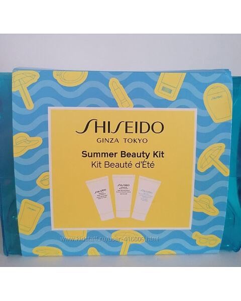 Shiseido- тревел-набор Summer Beauty Kit. по 30 мл
