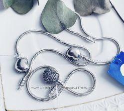 Браслеты Пандора серебро 925