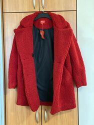 Пальто шуба teddy coat guess