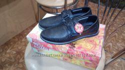 Новые кожаные туфли на мальчика р. 36