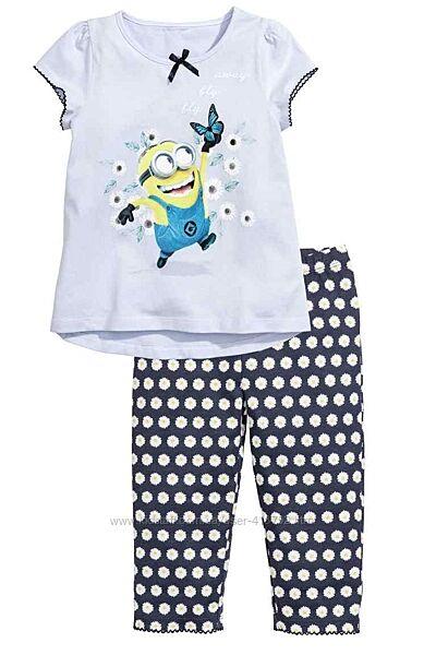Летняя пижама H&M для девочки, р.92