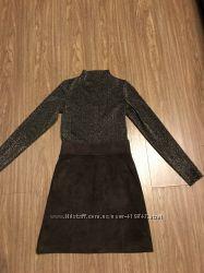 Очень красивое платье из люрекса, разм М. Идеальное состояние.